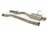 "K-Tuned 3"" Oval Tube Catback Exhaust System - 02-06 RSX Type S (DC5) / 02-05 Civic Si (EP3)"