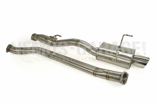 "K-Tuned 3"" Oval Tube Catback Exhaust System - RSX/EP3"