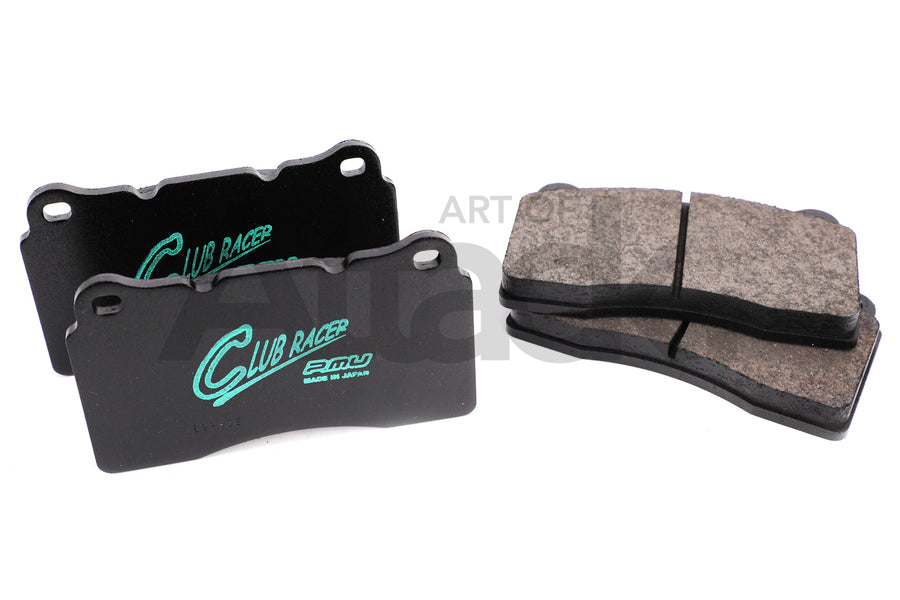 Project Mu Club Racer CR09 Front Brake Pads - 03-15 Mitsubishi EVO 8 / 9 / 10