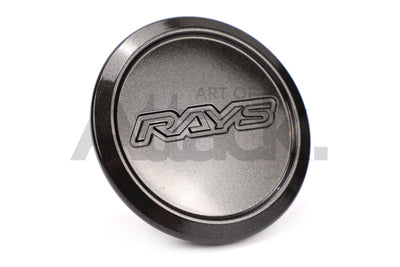 Rays Center Cap - TE37 Ultra / ZE40 - LOW Type - Diamond Dark Gunmetal