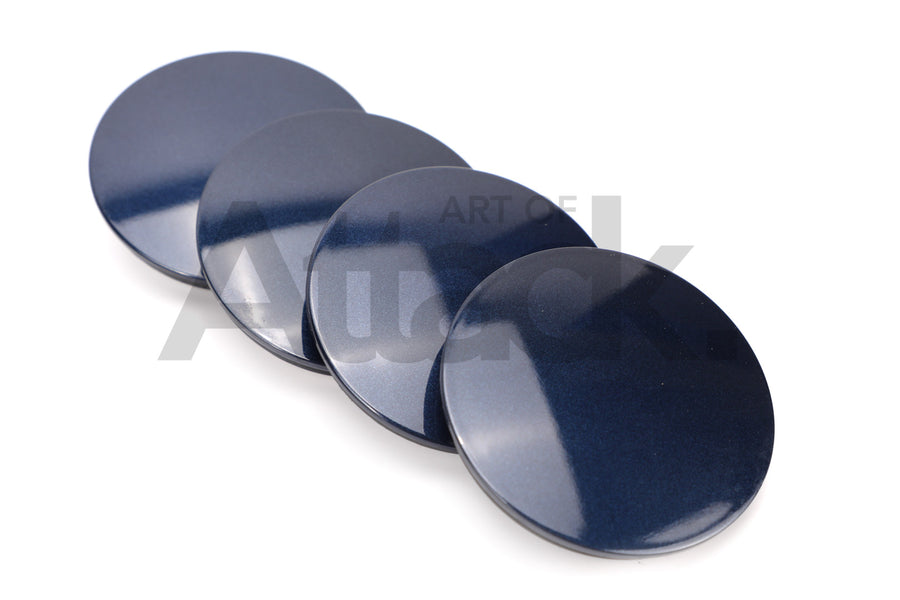 Rays A-Flat Clip Type Center Cap (4pc Set)
