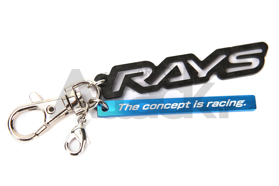 Rays Engineering Carbon Fiber Key Holder