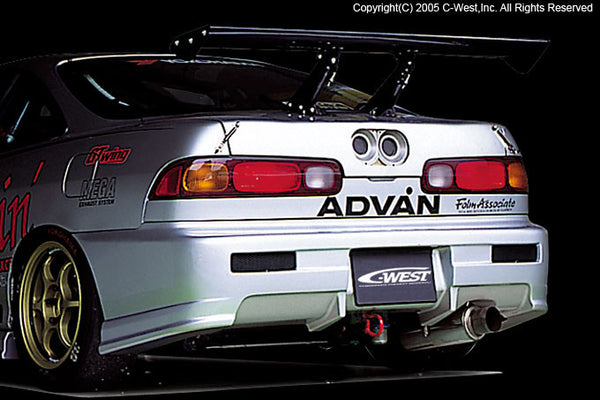 C-West Rear Bumper - 94-01 Integra (DC)