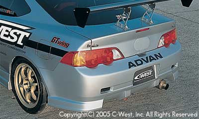 C-West Rear Bumper - 02-06 RSX (DC5)