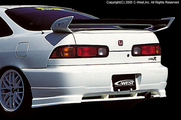 C-West Rear Lip - 94-01 Integra (DC)