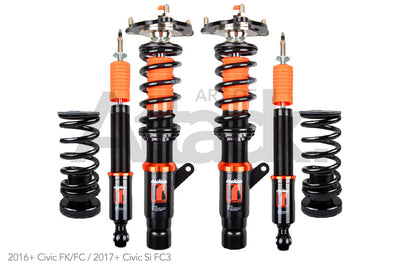Riaction Performance Coilovers - Honda/Acura Applications