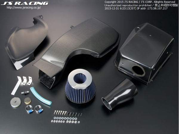 J's Racing Tsuchinoko Intake Systems - 02-06 RSX (DC5) / 02-11 Civic Si (EP3 and FD2) / 04-08 TSX (CL7)