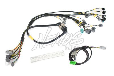 Rywire Mil-Spec F / H-Series Tucked Engine Harness (Quick Disconnect) - Honda / Acura Applications