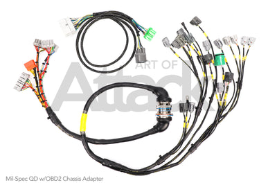 Rywire OBD1 Mil-Spec B/ D-series Tucked Engine Harness (Quick Disconnect) - Honda / Acura Applications
