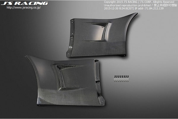 J's Racing S2000 Fender Ducts for J's Type-S Fenders