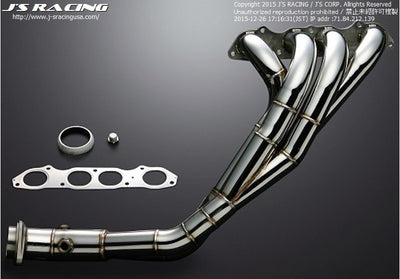 J's Racing Stainless Steel 4-2-1 Header - 00-09 S2000 (AP1/AP2)