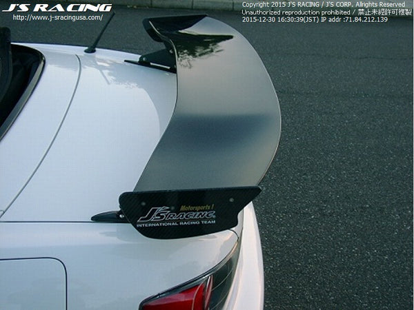 J's Racing 3D Dry Carbon GT Wings - Honda/Acura Applications