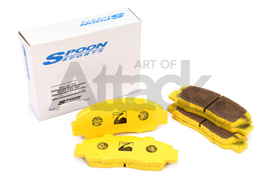 Spoon Sports Front Brake Pads - 02-06 Integra Type R (DC5R) / 06-10 Civic Type R (FD2)