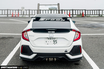 Spoon Sports Roof Spoiler - 2016+ Civic (FK7) / 2017+ Civic Type R (FK8)