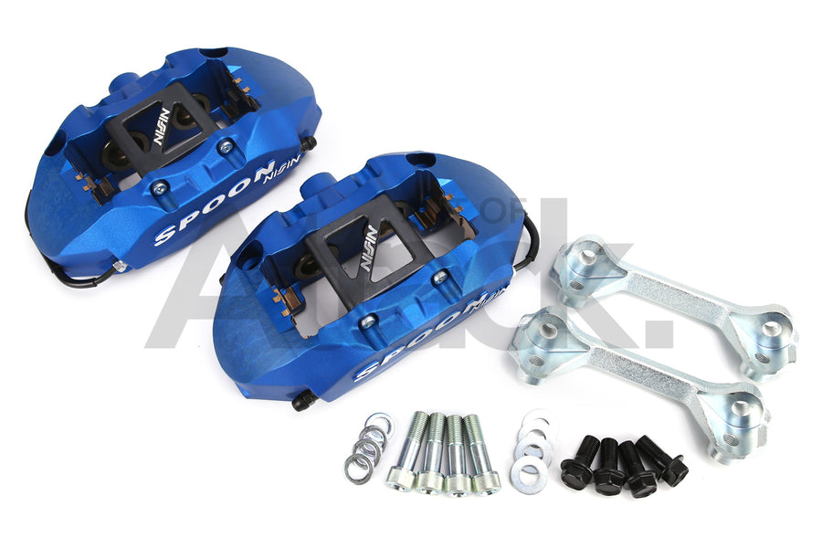 Spoon Monoblock Calipers - 02-06 Integra (DC5) / 02-11 Civic Type R (EP3/FD2)