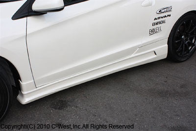 C-West Side Skirts - 11+ CR-Z (ZF1)