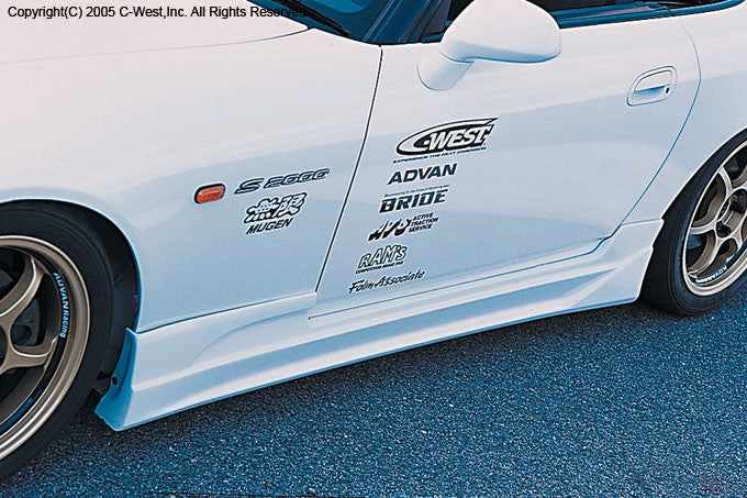 C-West Side Skirts - 99-04 S2000 (AP1)