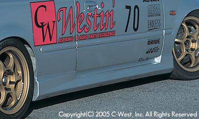 C-West Side Skirts - 96-00 Civic Hatchback (EK)