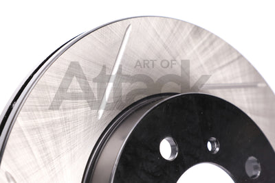 Stoptech Slotted Rotors (Front) - Honda/Acura Applications