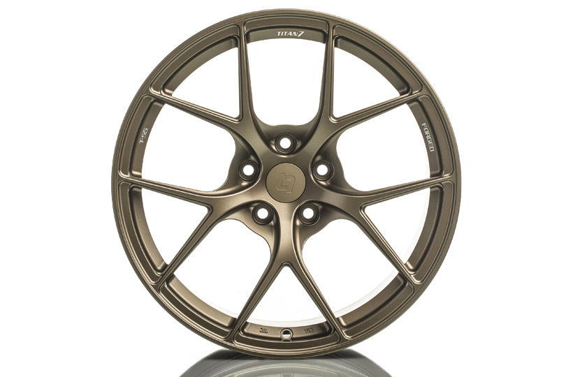 "Titan 7 T-S5 Wheels - 17"" (17x8 +37 5x114) Techna Bronze"