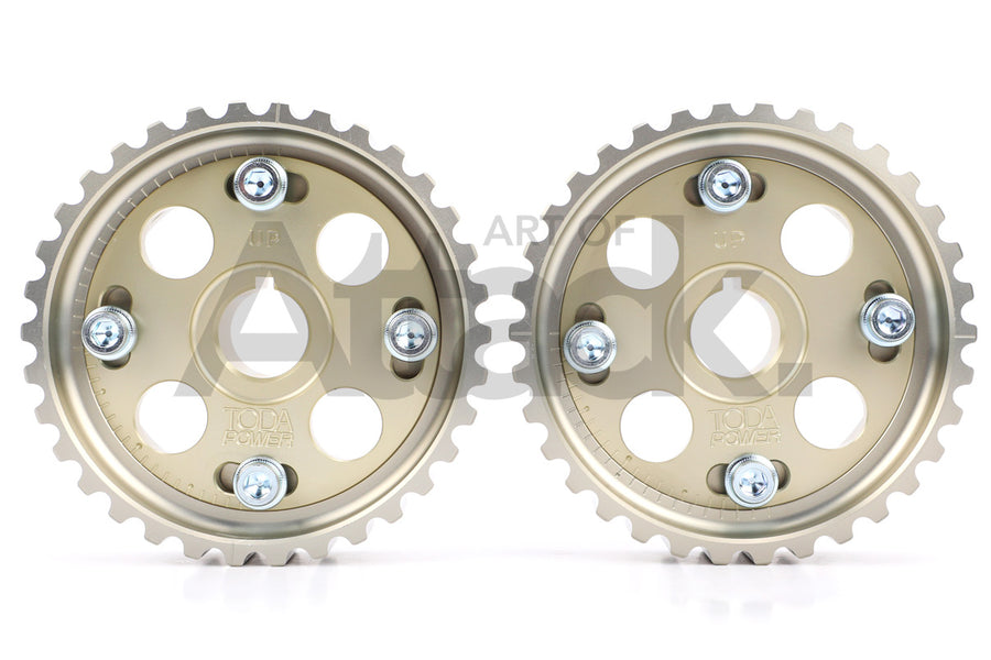 Toda Racing Adjustable Cam Pulleys - B-series / K-series