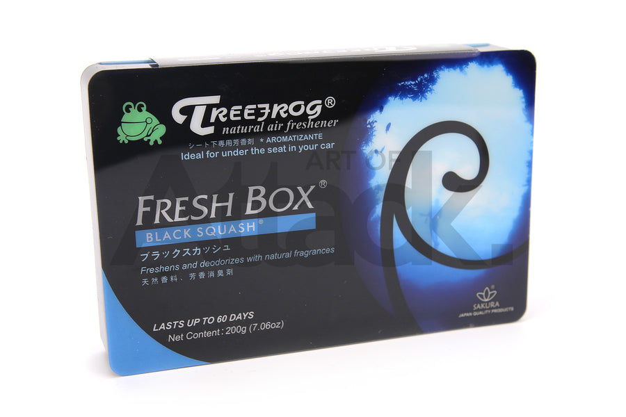 Treefrog Fresh Box Natural Air Freshener - Black Squash Scent