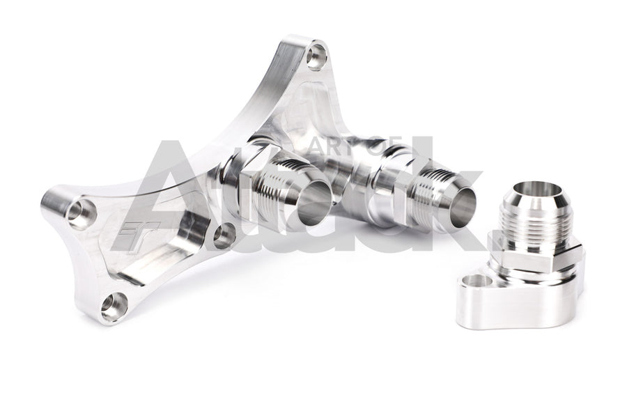 TracTuff Billet Water Neck - J-Series