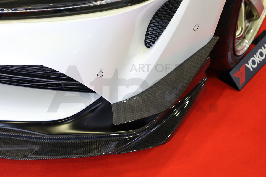 Varis Arising-I Carbon Canard Set - 2020+ Toyota Supra (A90)