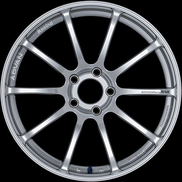 Advan RS-II Wheels - Hyper Silver Finish