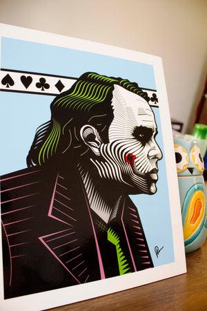 Joker Trilogy Wall Art