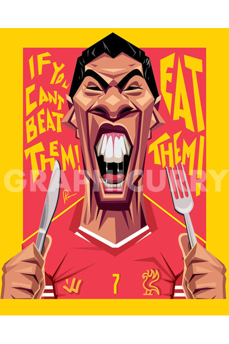 Suarez Wall Art by Graphicurry