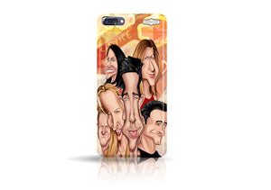 Buy Friends Iphone 7 phone case from Graphicurry. Caricature art by Prasad Bhat.
