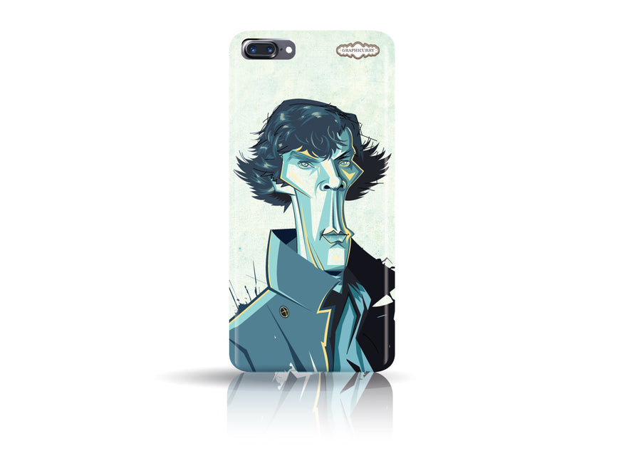 Buy Sherlock Iphone 7 phone case from Graphicurry. Caricature art by Prasad Bhat.