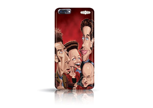 Buy Seinfeld Iphone 7 phone case from Graphicurry. Caricature art by Prasad Bhat.