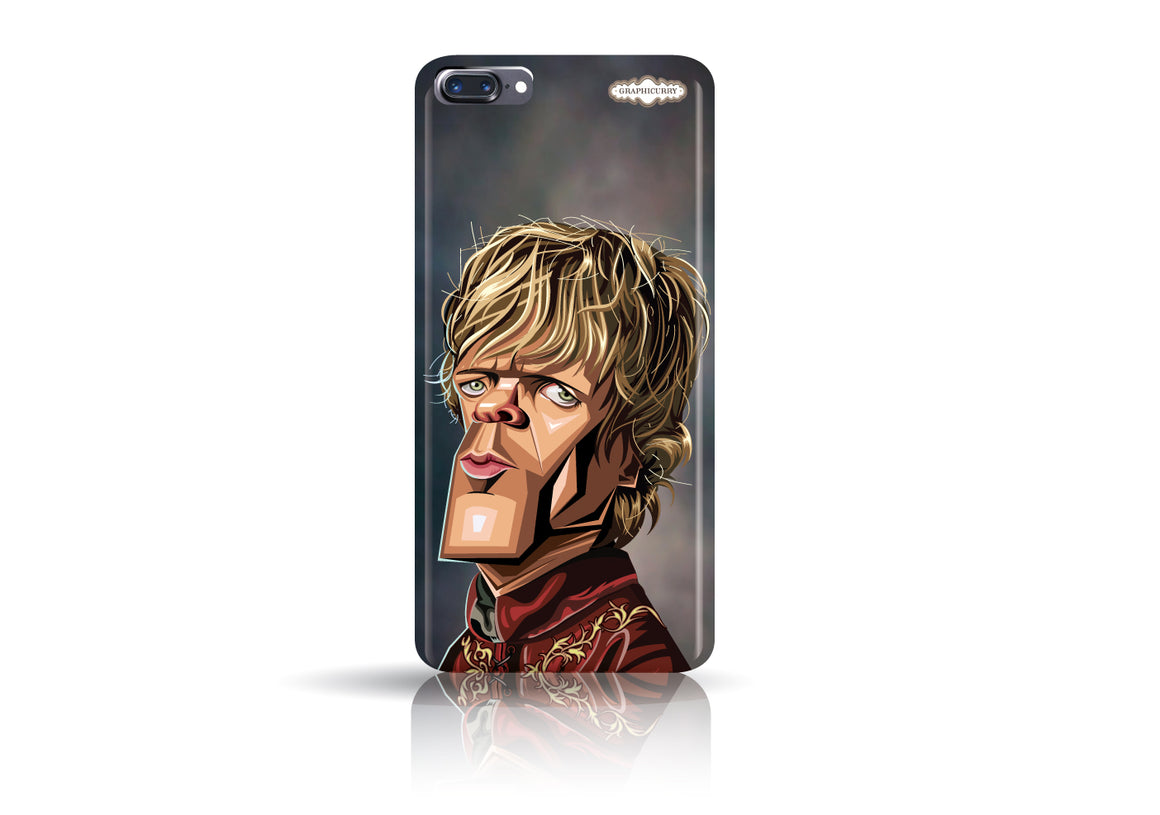 Buy Tyrion Iphone 7 plus phone case from Graphicurry. Caricature art by Prasad Bhat.