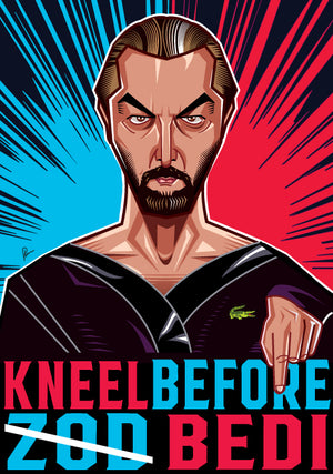 Kneel before Bedi Wall Art