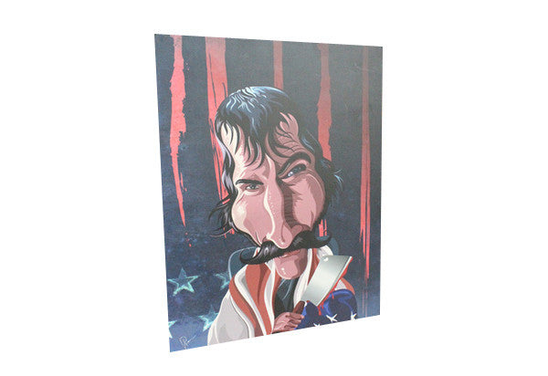 The Butcher - Bill Wall Art