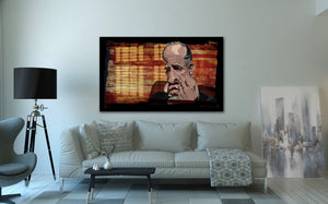 Godfather Exclusive Print by Prasad Bhat on Wall Decor.