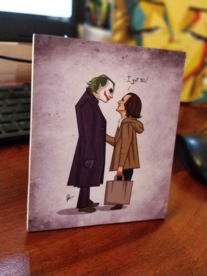 Joker Meets Joker Mini Wall Art