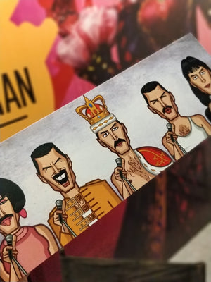 Tribute to Freddie Art Laminate