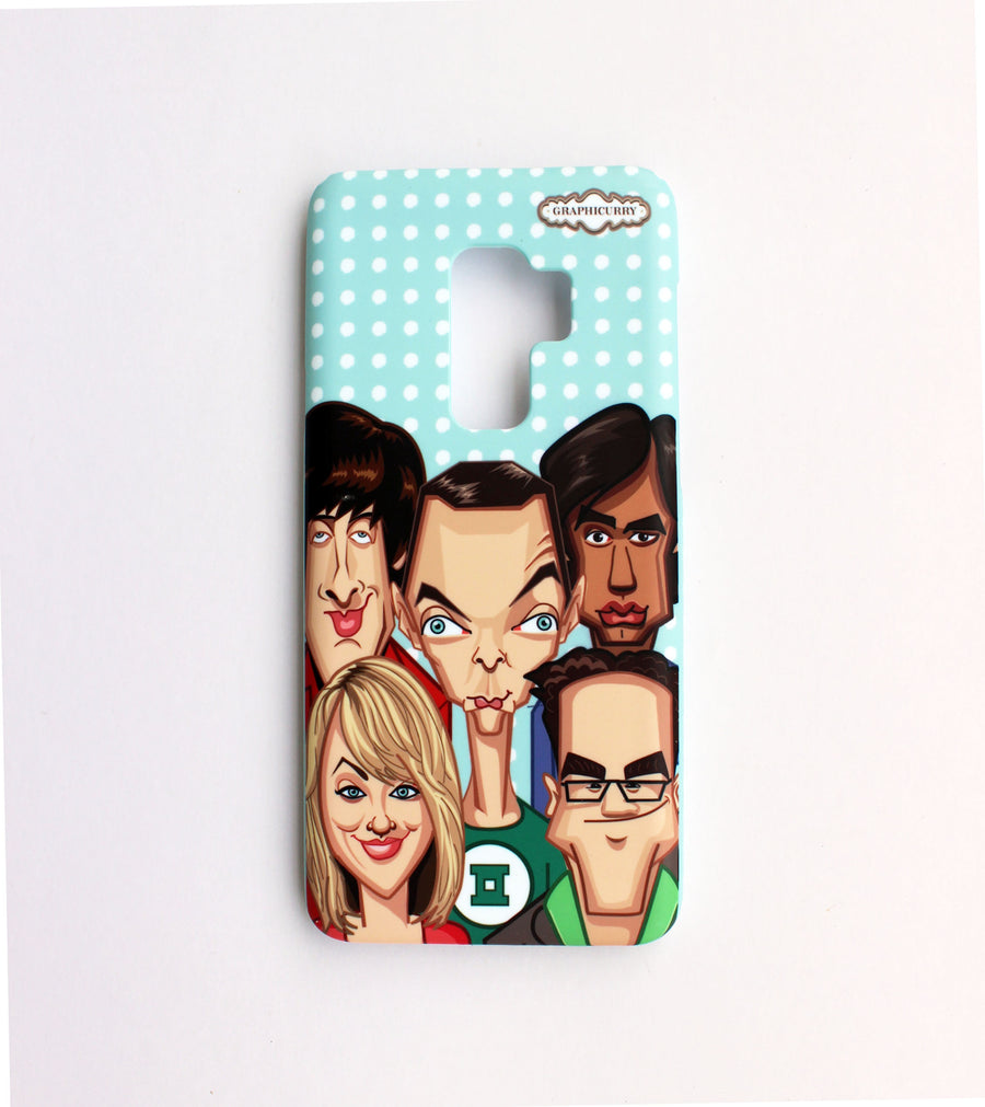 Big Bang  Theory Samsung 9 Plus Phone Case