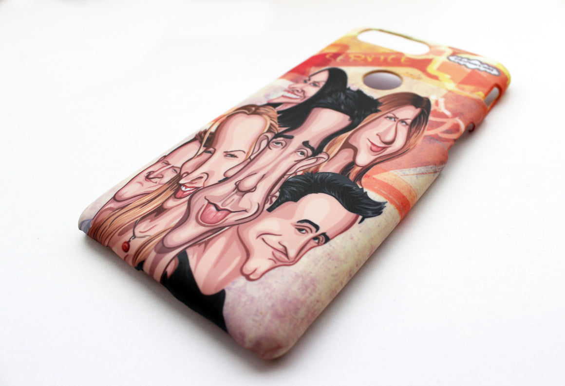 Friends One Plus Five T Phone Case