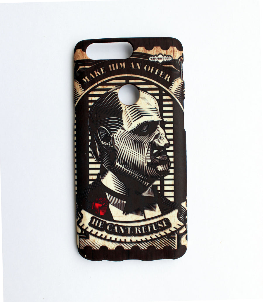 Godfather Stamp One Plus Five T Phone Case