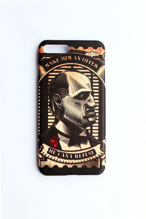 Godfather Stamp Iphone 8 Plus Phone Case