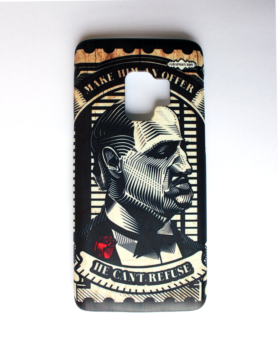 God Father stamp Samsung9 Phone Case