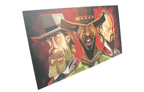 Django Tribute Wall Art