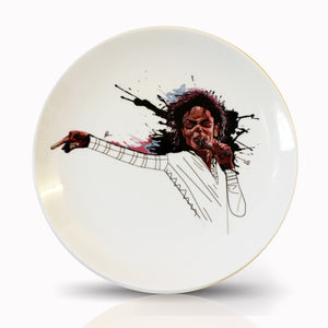Michael Jackson Ceramic Decor Plate