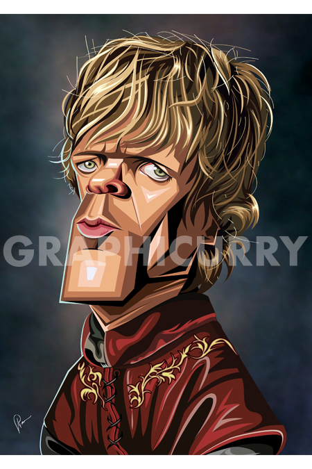 Got Tyrion Wall Art by Graphicurry