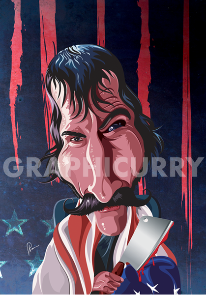 The Butcher - Bill Wall Art by Graphicurry