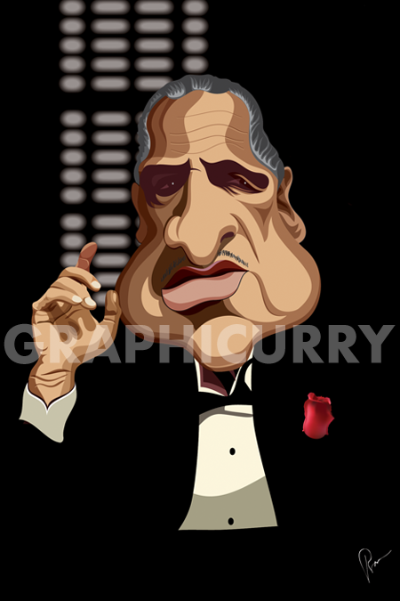GodFather Wall Art by Graphicurry